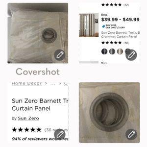 Zero Sun Curtain